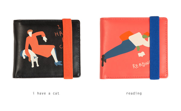 [Pre-Order] Busy Life Short Wallet By YIZI