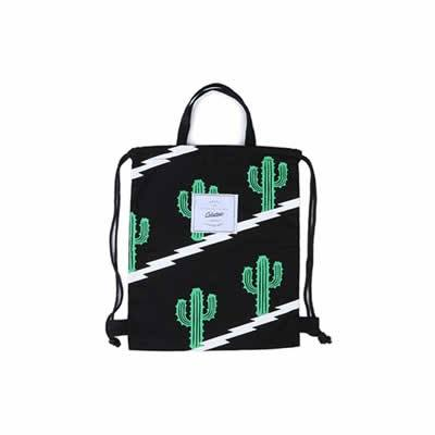 Cactus Mexican Cactus Drawstring Backpack By Colourup