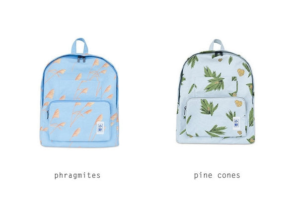 Plants Canvas Backpack by 小野 (Xao Ye) - OUT OF PRODUCTION