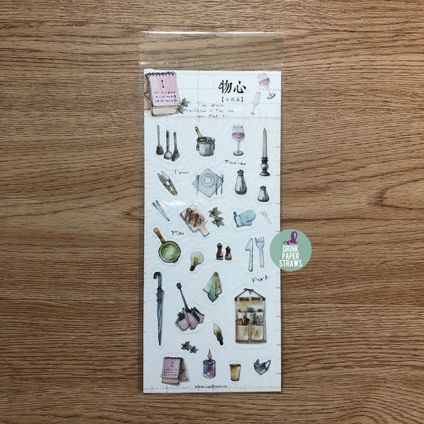 Household Items Stickers