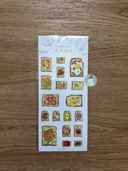 Toast Sandwich Bread Stickers