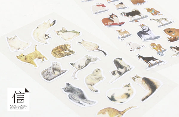 Dogs At Home Stickers