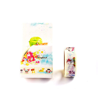 Summer Cats Washi Tape