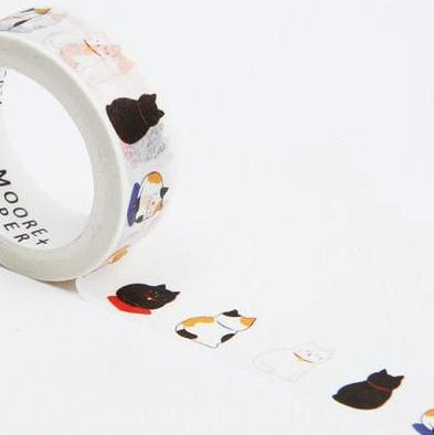 Resting Cats Washi Tape