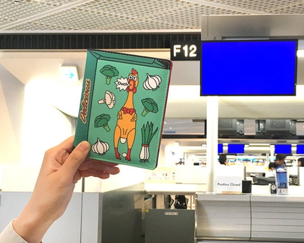 Convenience Store Passport Cover By Bentoy