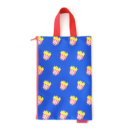 Clutch Fries Blue Pouch by U-Pick