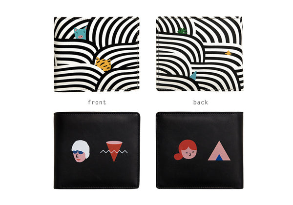 Colour Story Short Wallet By YIZI STORE