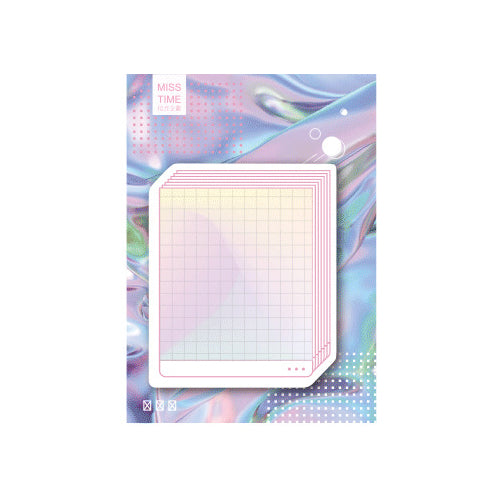 Computer Swag Window Grill Sticky Notes