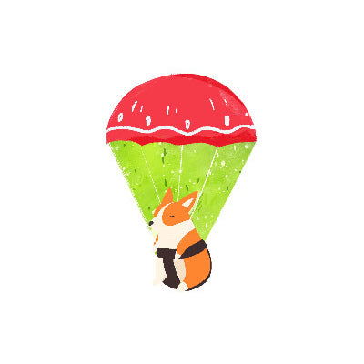 Corgi [Hot Air Balloon] Sticky Notes