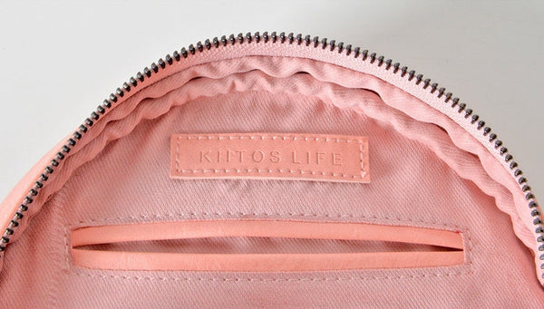 Round Crossbody Bag by Kiitos Life - OUT OF PRODUCTION
