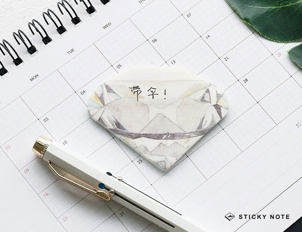 Crystal Sticky Notes