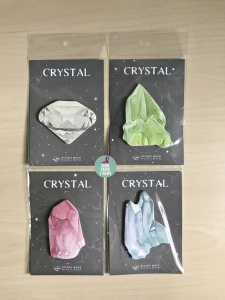 Crystal [Green] Sticky Notes