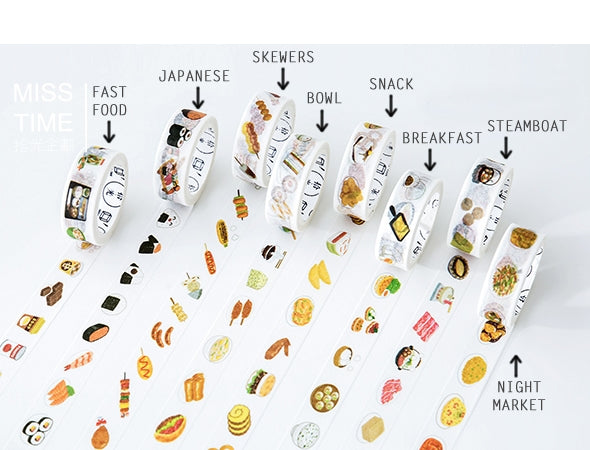 Breakfast Cuisine Washi Tape [Coming Soon]