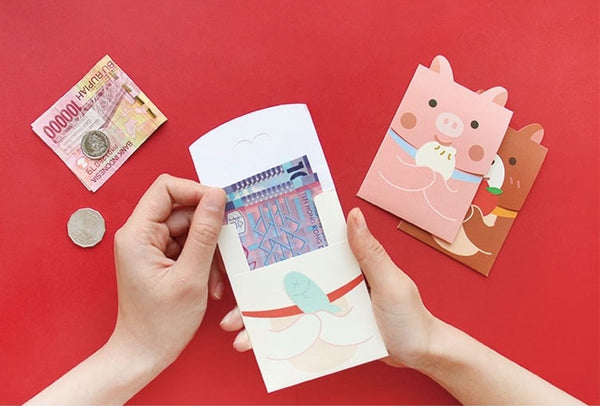 Cute Animal Red Packets By U-Pick