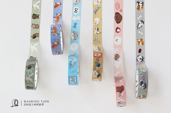 Calico & Fortune Cats Washi Tape