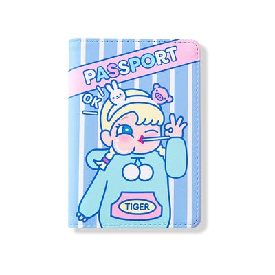 Cutie Girl Ok Ok Passport Cover By Milkjoy