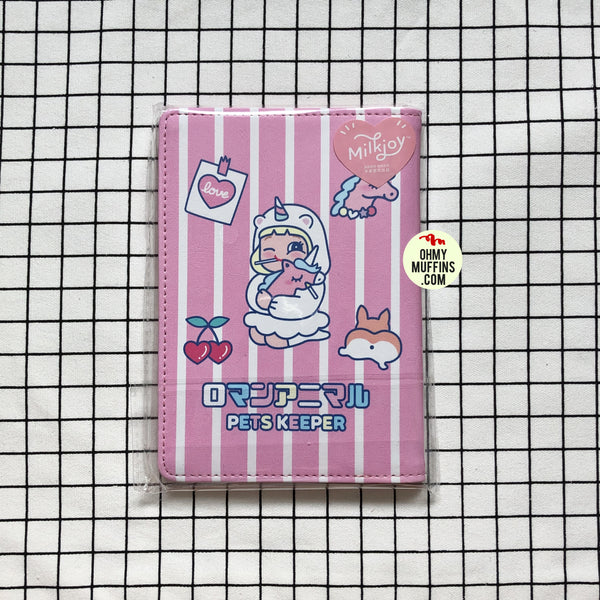 Cutie Girl Unicorn Passport Cover By Milkjoy