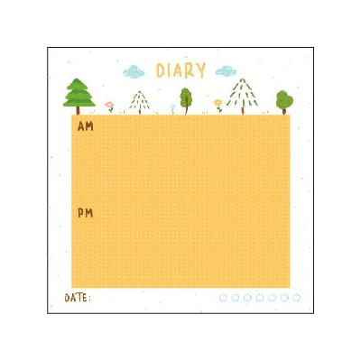 Cutie Note Diary Sticky Notes