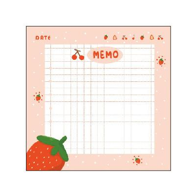 Cutie Note Strawberry Memo Sticky Notes