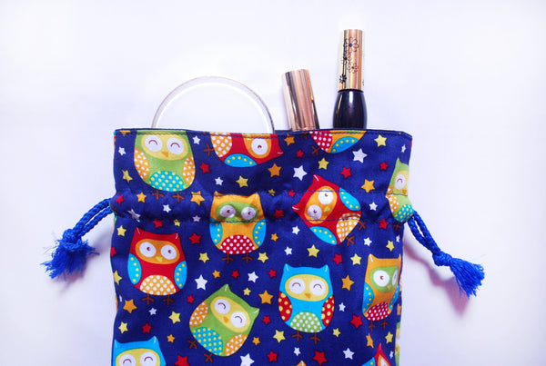[Owl] Drawstring Pouch (3 Sizes)