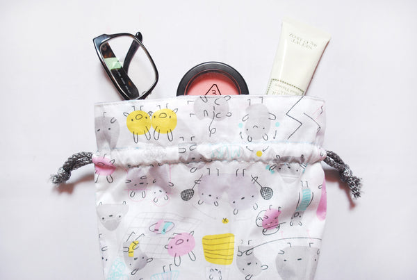 [Secret Souffle] Drawstring Pouch