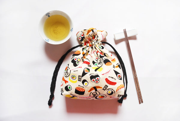 [Sushi] Drawstring Pouch