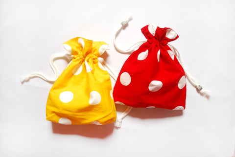 [Dotty] Drawstring Pouch