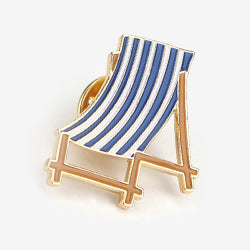 Daily Badge Deck Chair Pin By Dailylike