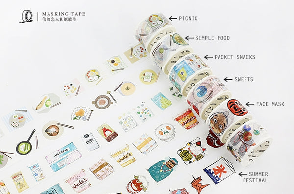 Sweets Washi Tape