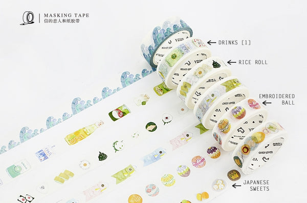 Drinks [1] Washi Tape [Coming Soon]