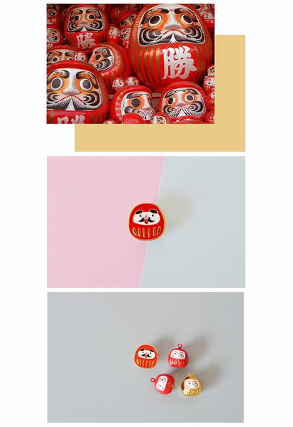 Japanese Style [Daruma Doll] Pin By 生活日记
