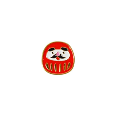 Japanese Style Pin Daruma By 生活日记