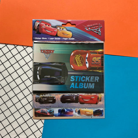 Disney Cars 3-Layer Stickers