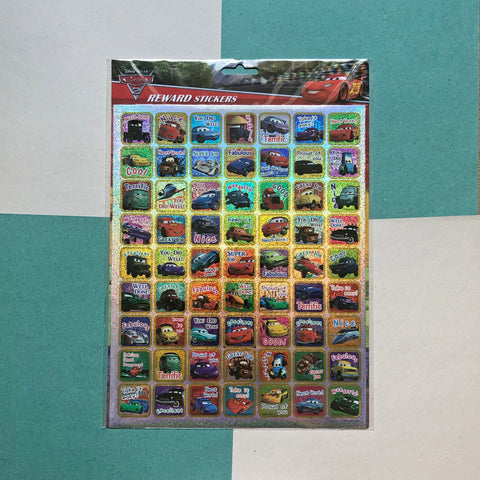 Disney Cars Big Reward Stickers