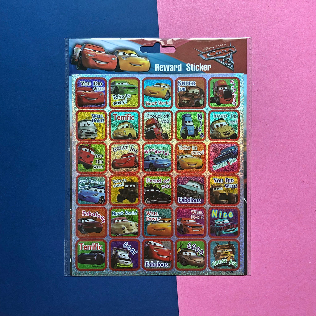 Disney Cars Small Reward Stickers