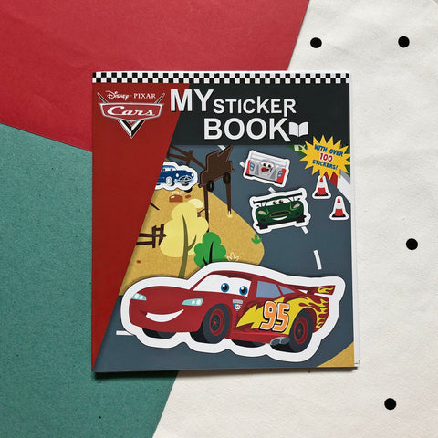 Disney Cars Sticker Book