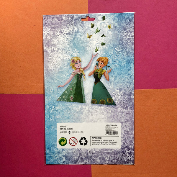 Disney Frozen Puffy Stickers