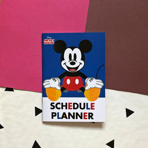 Disney Mickey Mouse Blue Schedule Planner Book