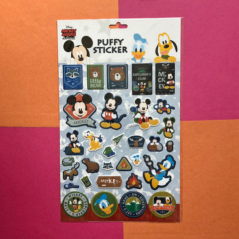 Disney Mickey Mouse Puffy Stickers