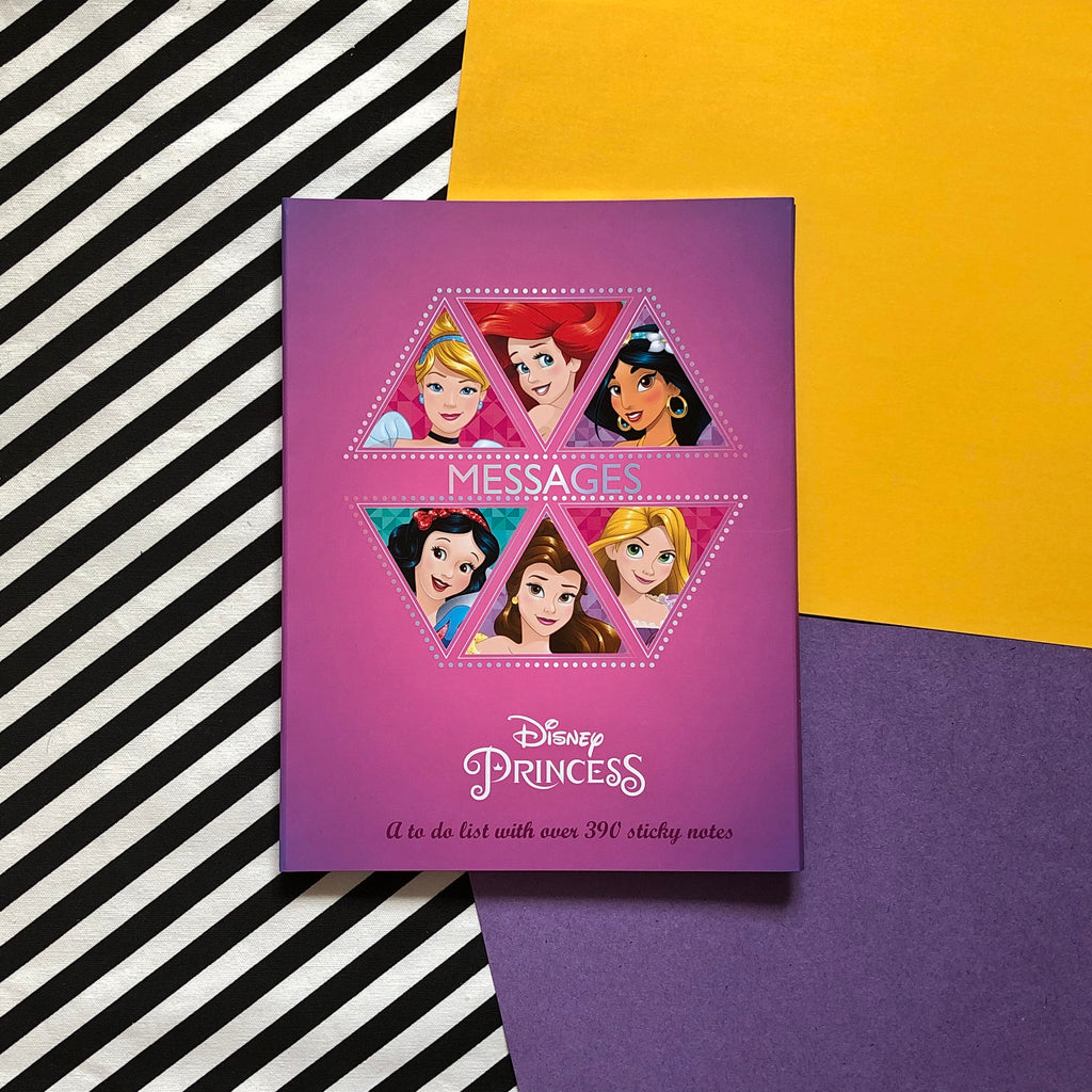 Disney Princess Message Sticky Notes & Writing Pad