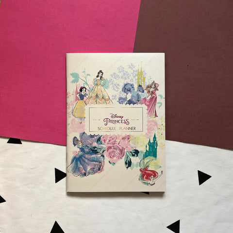 Disney Princess Schedule Planner Book