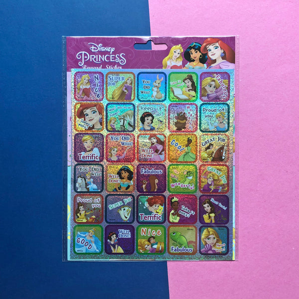 Disney Princess Small Reward Stickers
