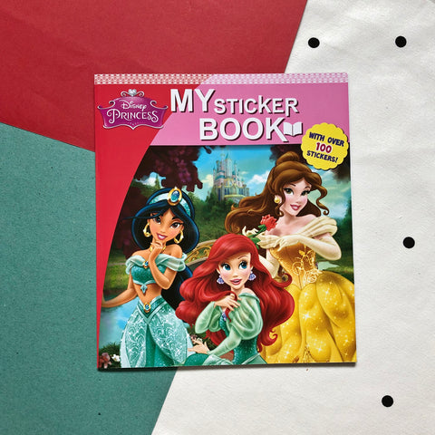 Disney Princess Sticker Book