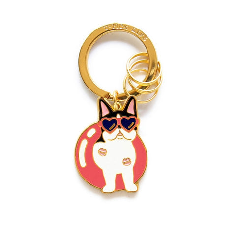 Cute Dog [French Bulldog] Key Chain By U-Pick