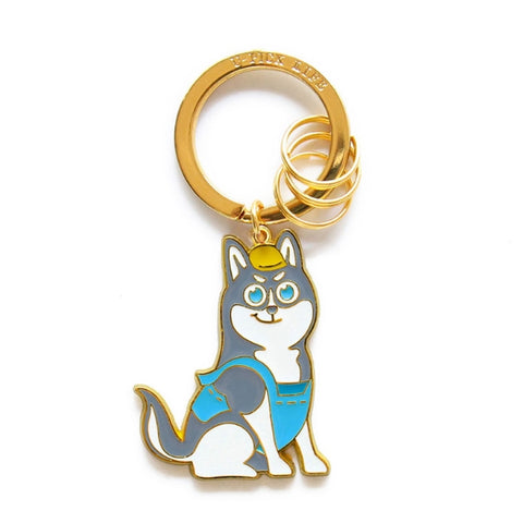 Cute Dog Husky Key Chain By U-Pick
