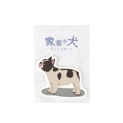Dog French Bulldog Sticky Notes