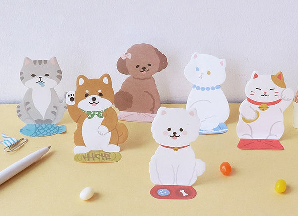 Cute Cat [Persian Cat] Sticky Notes