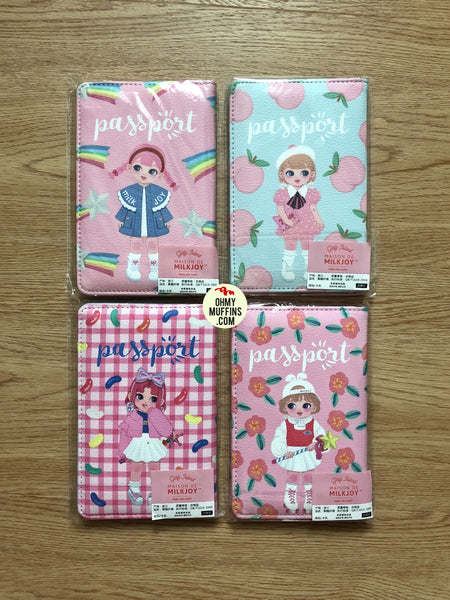 Dolly Girl Passport Cover Holder By Milkjoy