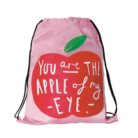 Drawstring [Apple] Backpack By U-Pick