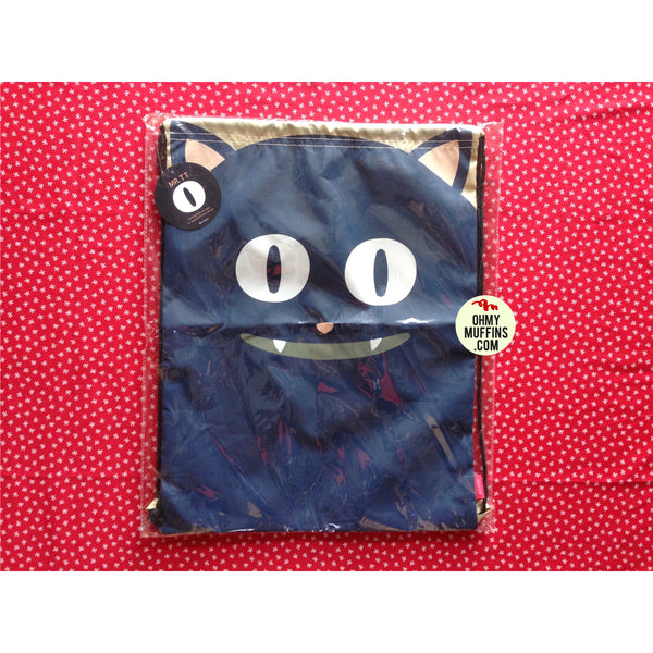 Drawstring [Black Cat] Backpack By U-Pick